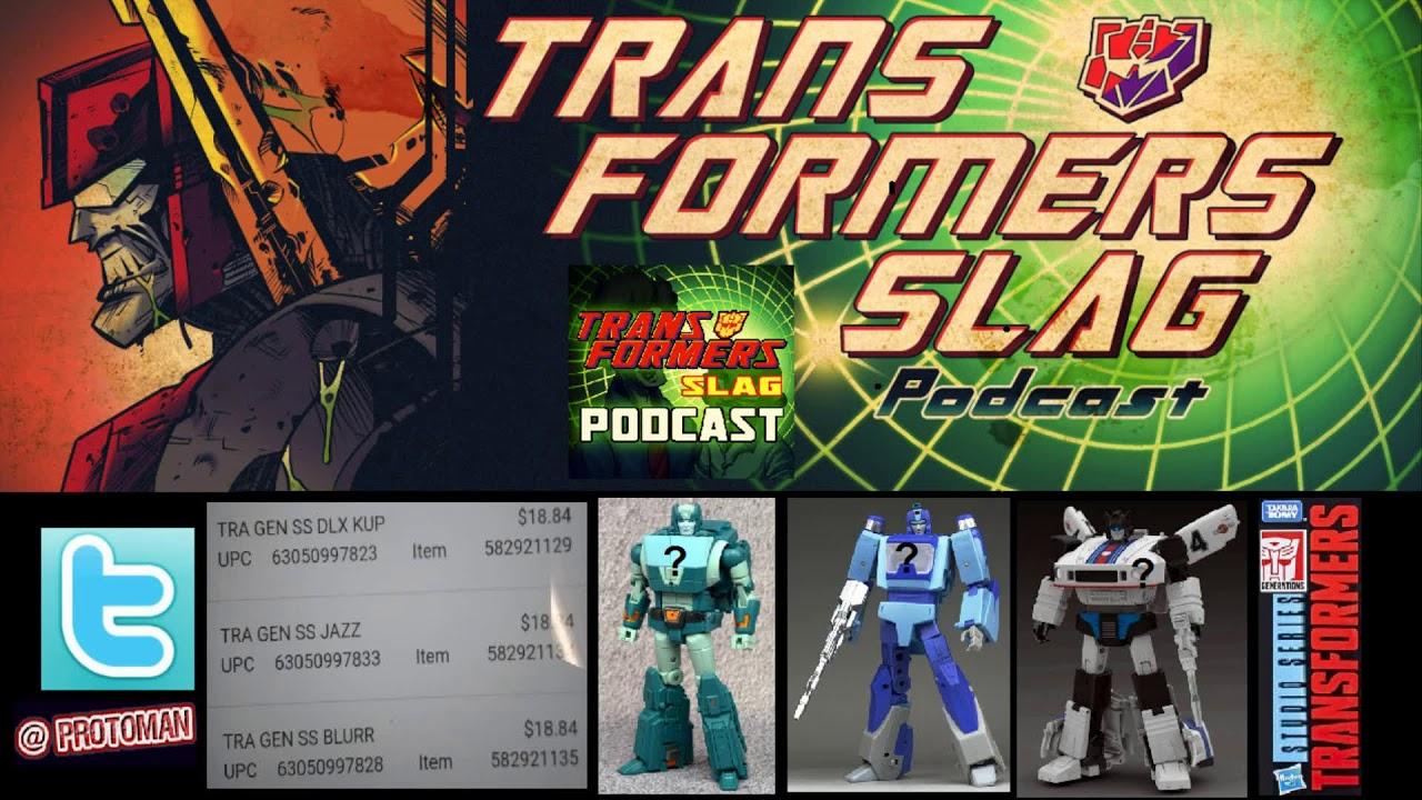 Transformers Studio Series 1986 Movie G1 Kup, Blurr & Jazz listings leaked!