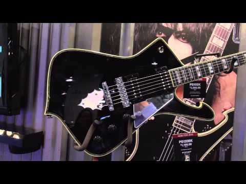 NAMM 2015 - Ibanez Paul Stanley Signature Models