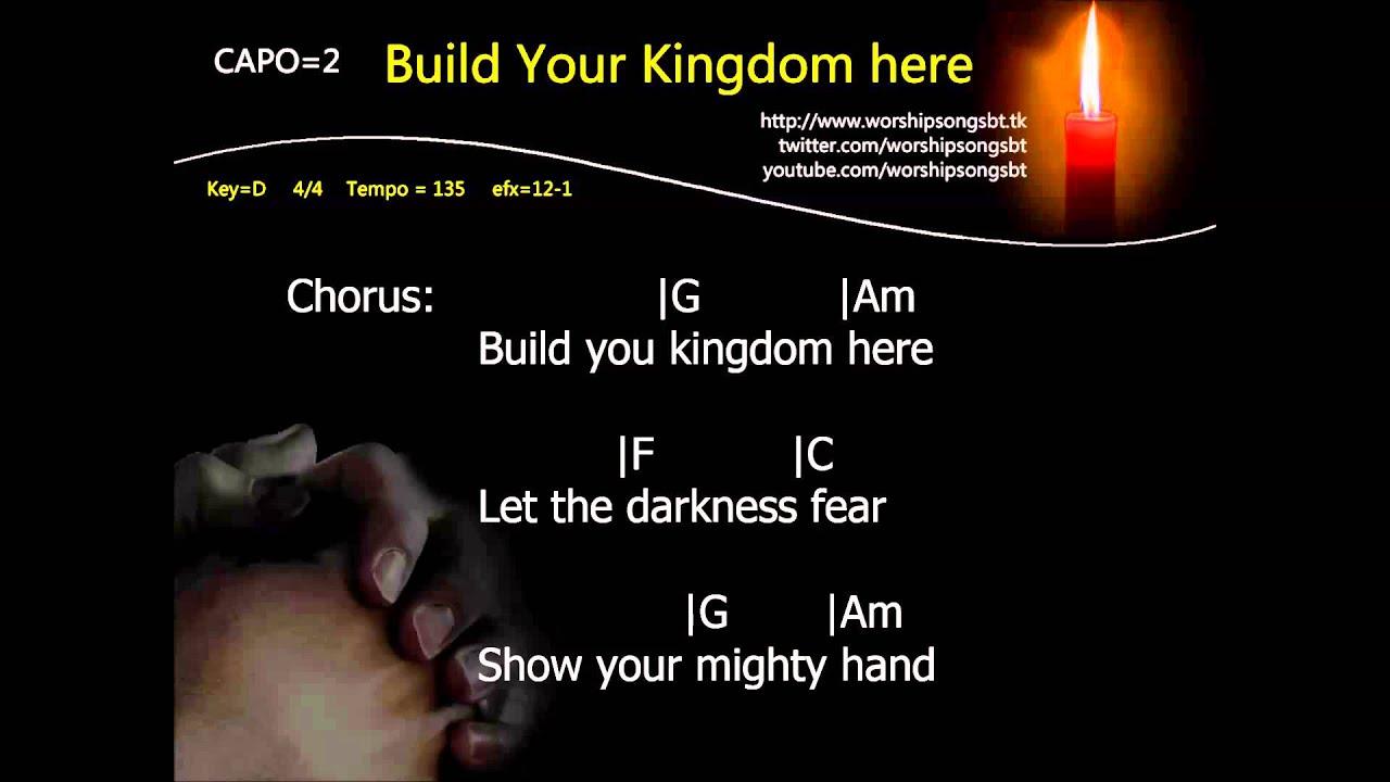 Build your kingdom here karaoke demo youtube build your kingdom here karaoke demo hexwebz Gallery