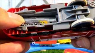 TOMY Plarail Chuggington Wilson *2012 ALL NEW* Unboxing review and first run