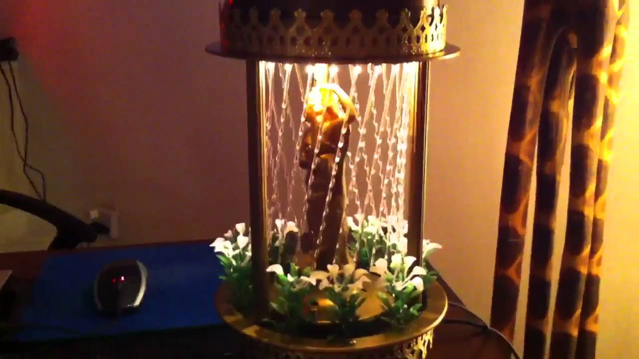 My new rain lamp - YouTube