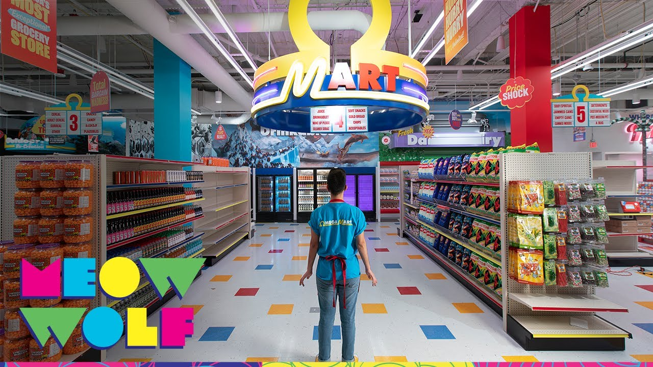 The Omega Mart Experience   Meow Wolf Las Vegas