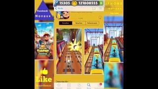 Como tener monedas y llaves  ilimitado Subway Surfers app no  jailbreak