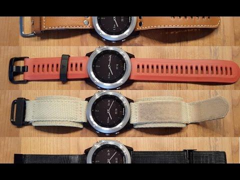 Garmin Fenix 3 Welches Armband Ist Das Beste Youtube