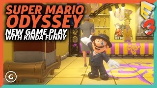 Super Mario Odyssey: Donk City Gameplay With Kinda Funny | E3 2017 GameSpot Show