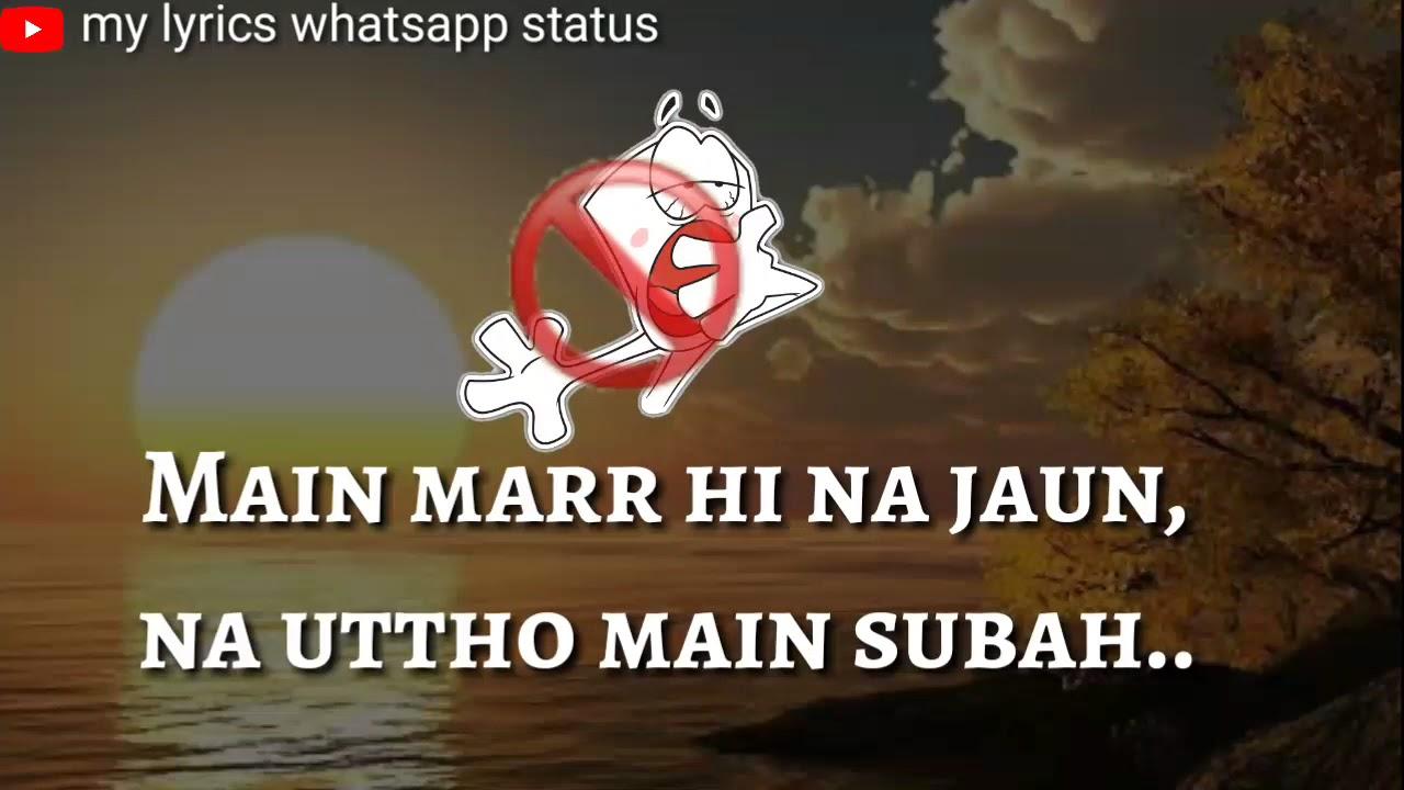 Download Mehboob( Fukrey return )Raftaar rap 30 sec whatsapp status
