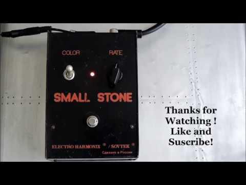Electro Harmonix Small Stone Black Russian demo