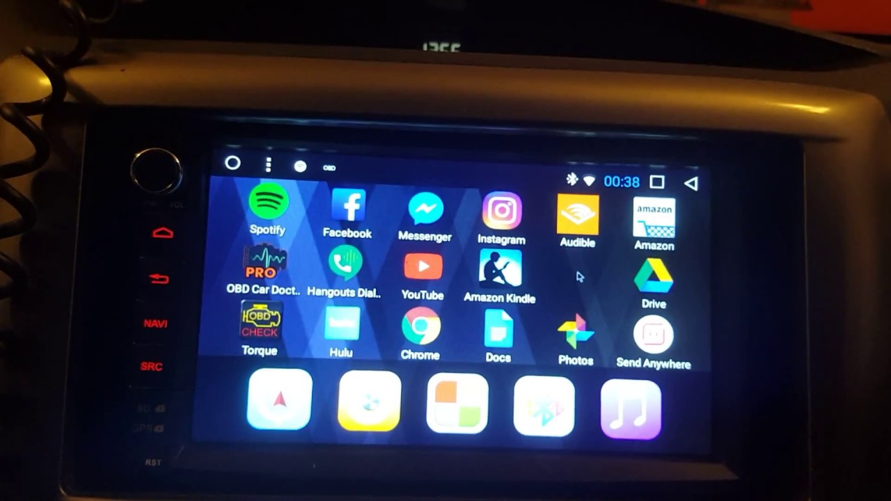 How did the Enicar 7 1 inch touch screen android stereo work out