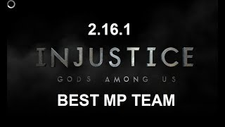 Best MP Team for Injustice Gods Among Us Mobile