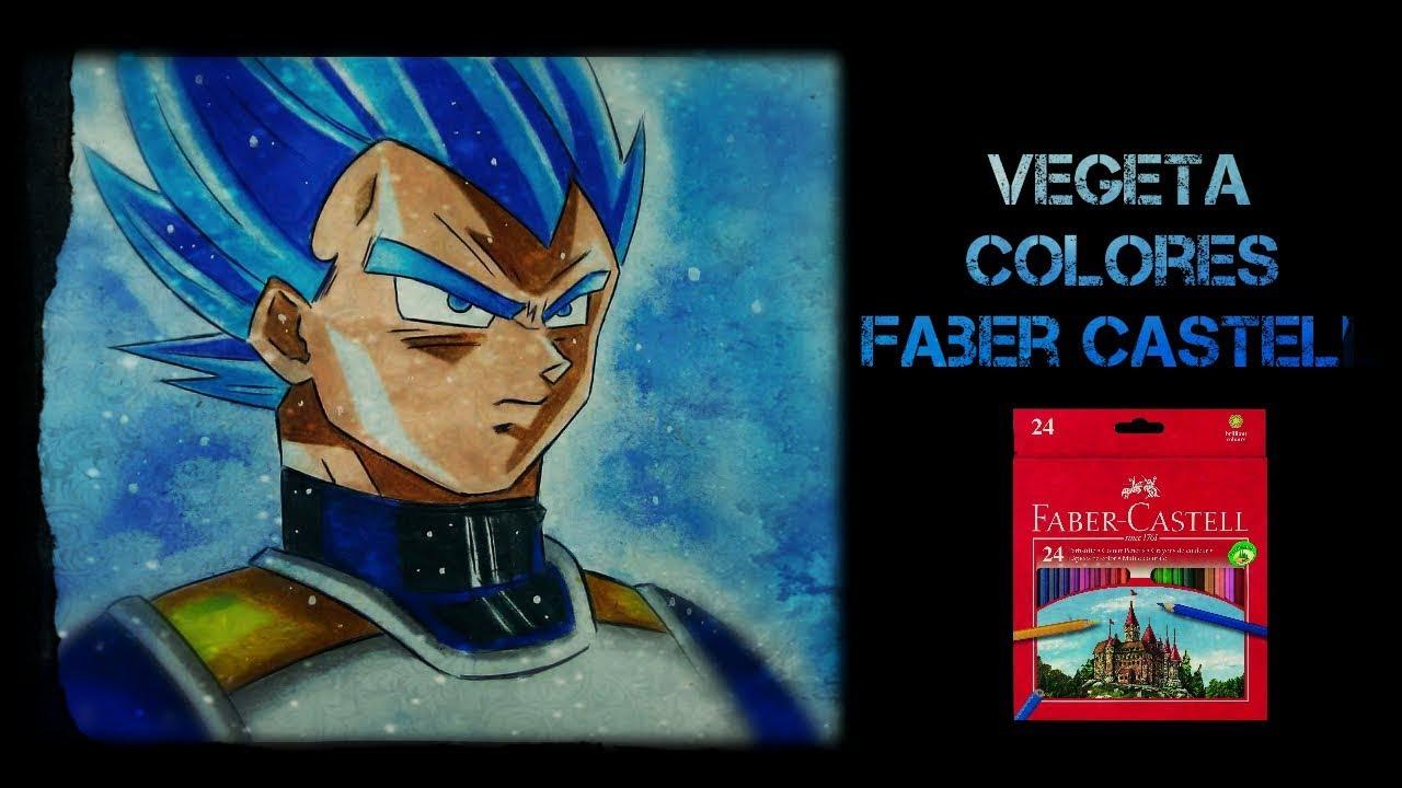 Fotos De Vegeta Color Azul: Vegeta Dios Azul COLORES FABER CASTELL