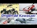Los origenes de Kawasaki, del submarino a la moto...