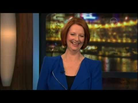 Kitty Flanagan on Australian democracy - The 7pm Project (w/special guest PM Julia Gillard)