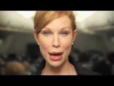 Delta Airlines Safety Announcement Redhead