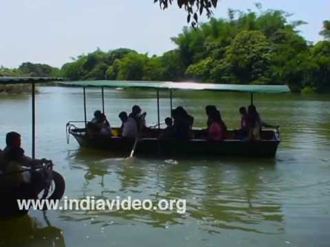 Boating at Ranganathittu Bird Sanctuary