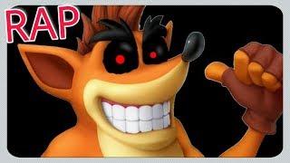 Rap do Crash.exe / Creepypasta (Crash Bandicoot) - Eu Sou o Vilão | KNZ