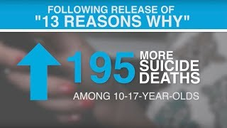 "Increase in Youth Suicides After Release of ""13 Reasons Why"""