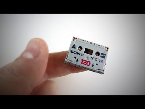 The World's Smallest Cassette Tape - Sony NT