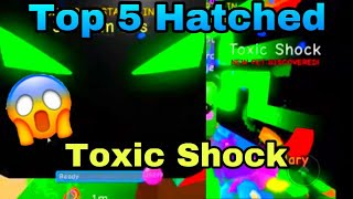 Top 5 hatched toxic shock caught on camera(update 44 bgs)