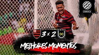 Melhores momentos: Flamengo 3 x 2 Volta Redonda - Taça Guanabara 3ª rodada