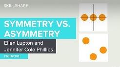 Symmetry vs. Asymmetry in Graphic Design