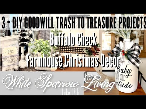 3-•-diy-goodwill-trash-to-treasure-buffalo-check-farmhouse-christmas-decor-projects