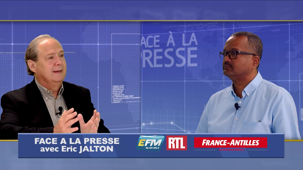 Teaser FACE A LA PRESSE avec Eric JALTON