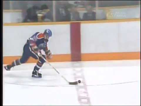Wayne Gretzky Overtime Goal vs Flames 1988 Playoffs