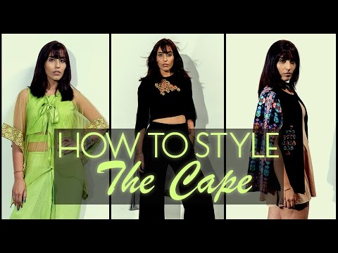 How To Style : The Cape | 2015 Fashion Trends