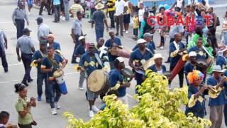 Así se vivieron los carnavales de Guantánamo, Cuba