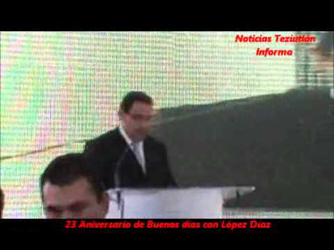 23 ANIVERSARIO DE BUENOS DIAS CON LOPEZ DIAZ
