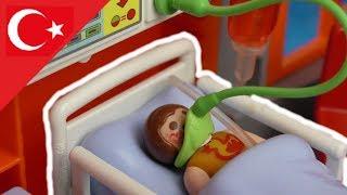 Playmobil Türkçe Elif Hastanede – Alerji - Hauser Ailesi - Çocuk filmi