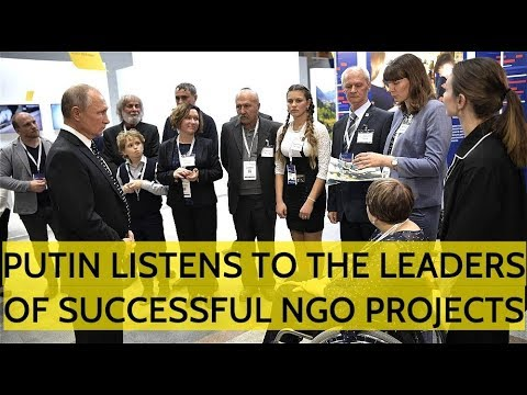 Putin Do Like NGOs! Russian President Spends Record Amount Of Funds On Russian Civil Society! Mp3