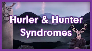 Hurler Syndrome and Hunter Syndrome | Lysosomal Storage Disorder Mnemonic