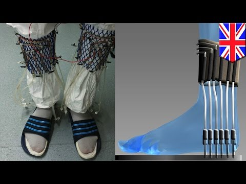 Cool technology 2015: urine-powered socks can charge wireless transmitters - TomoNews