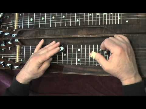 Lap Steel Lesson 3 Note Minor Forward Slant C6th Tuning Low to High CEGACE
