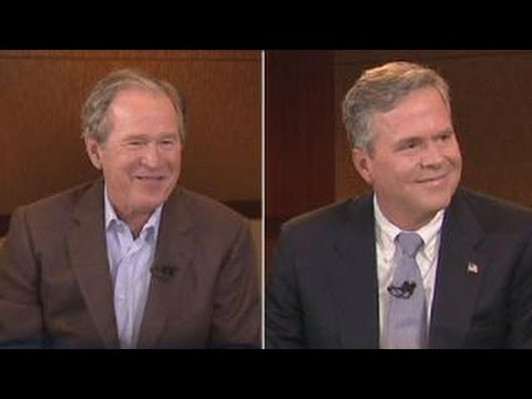Exclusive: Jeb and George W. Bush speak out about 2016 race