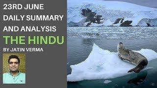 23rd June The Hindu Daily Summary