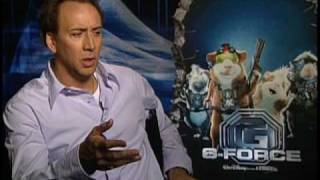 G-FORCE Interviews -- Nicolas Cage, Tracy Morgan, Steve Buscemi and Bill Nighy