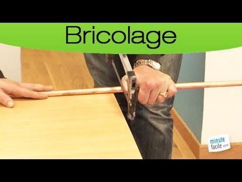 couper parfaitement une barre de cuivre avec une scie. Black Bedroom Furniture Sets. Home Design Ideas