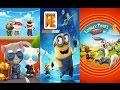 Talking Tom Gold Run vs Despicable Me 2 Minion Rush vs Looney Tunes Dash game for kids
