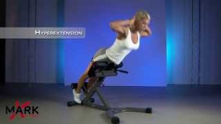 XMark 45 Degree Hyperextension - XM-4428 - Heal lower back pain with strength training