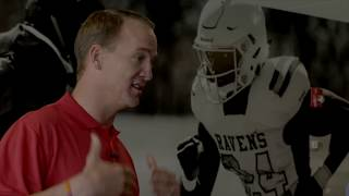 Riddell and Peyton Manning Surprise Wendell Phillips Academy with New Equipment for Smarter Football
