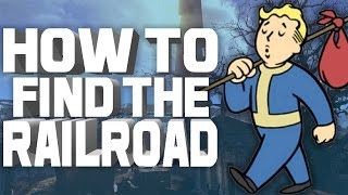fallout 4 how to find the railroad freedom trail tutorial