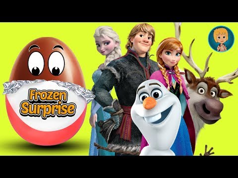 Surprise Eggs Frozen with Anna Elsa and Kristoff (Gertit ToysReview)