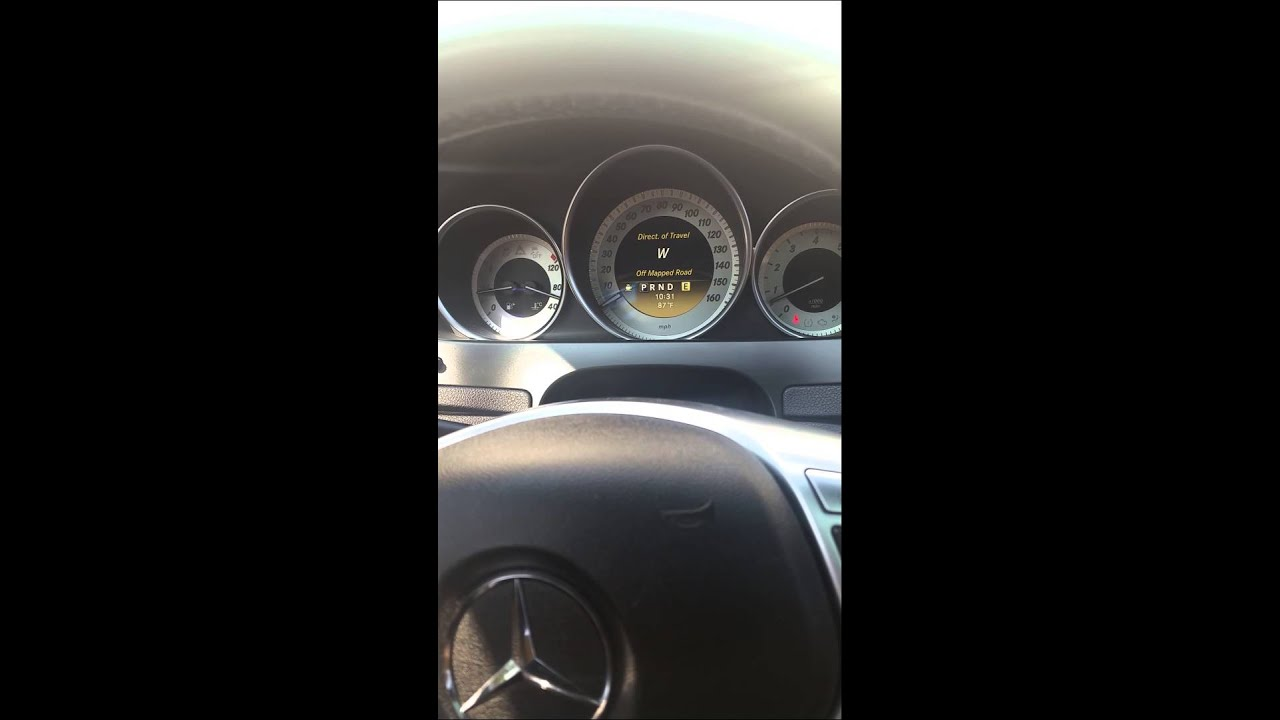 2012 Mercedes c300 noise from rear