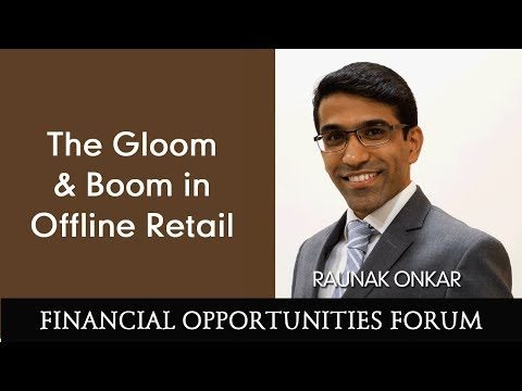 The Gloom & Boom in Offline Retail