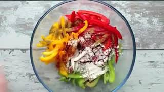 Easy Recipes- Chicken fajitas with homemade salsa!