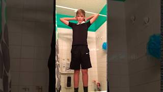 Kid hangs himself with toilet paper