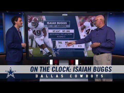 On The Clock: Isaiah Buggs   Dallas Cowboys -