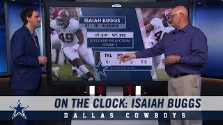 On The Clock: Isaiah Buggs | Dallas Cowboys 2018-2019